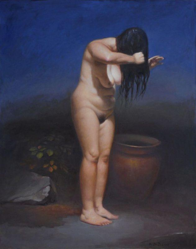 Susanna - olio su tela, cm80x100, 2016